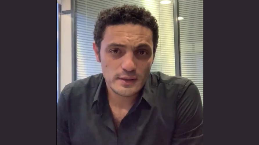 لقطة من أحد فيديوهات محمد علي