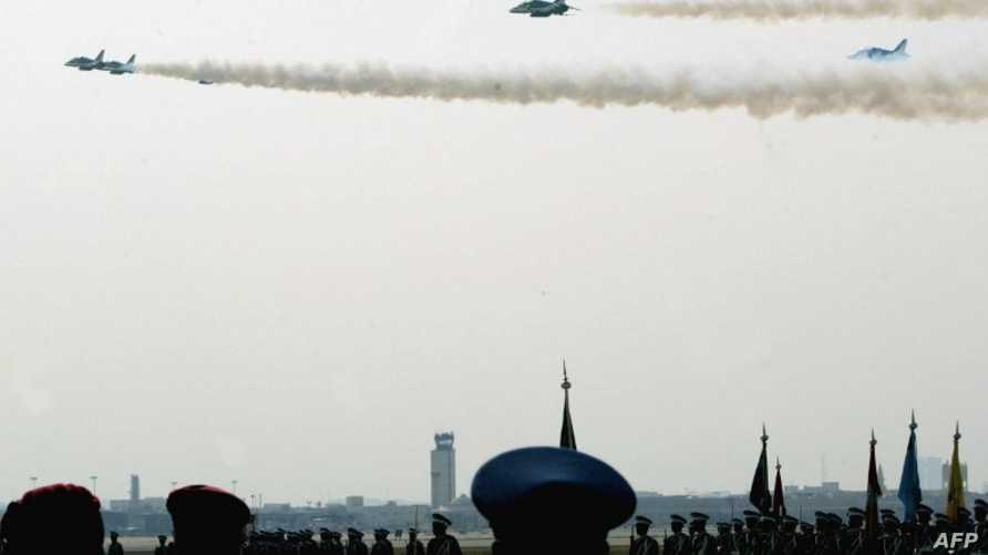 مقاتلات سعودية في استعراض جوي في الرياض، أرشيف