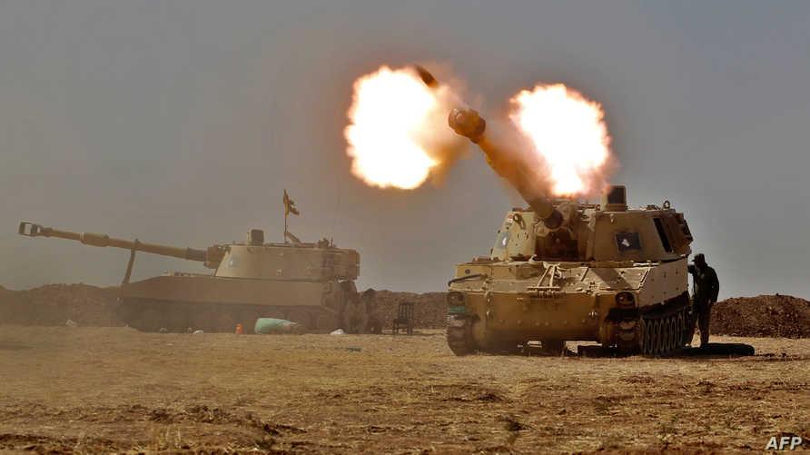 قوات عراقية خلال عملية استعادة الموصل