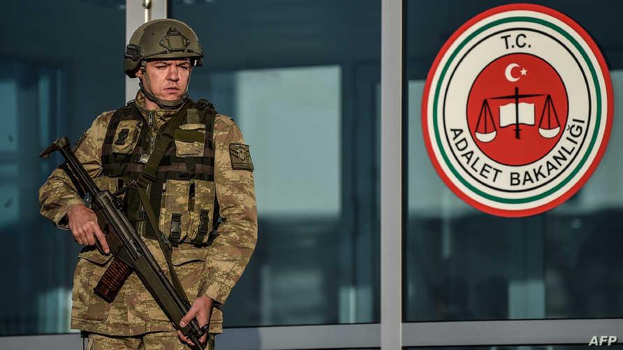 أمام محكمة تركية