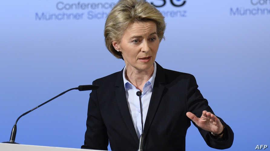 وزيرة الدفاع الألمانية أورسولا فان دير ليان