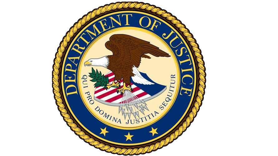 شعار وزارة العدل الأميركية
