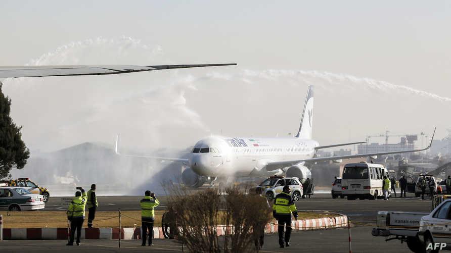 إيرباص في مطار بطهران-أرشيف