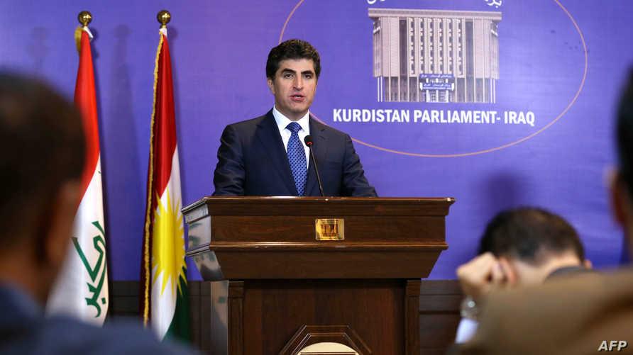 رئيس حكومة إقليم كردستان نيجيرفان بارزاني