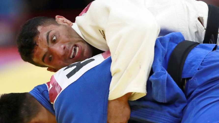 لاعب الجودو الإيراني السابق سعيد ملايي