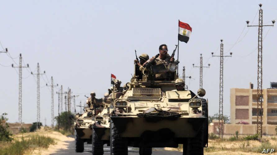 قوات مصرية في سيناء -أرشيف