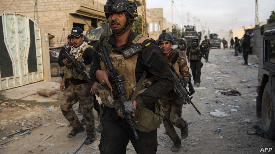 قوات عراقية في الموصل