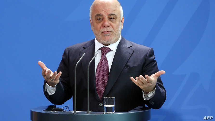 رئيس الوزراء العراقي حيدر العبادي-أرشيف