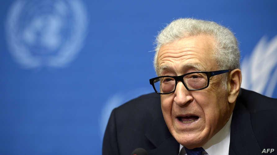 مبعوث الأمم المتحدة إلى سورية الأخضر الإبراهيمي
