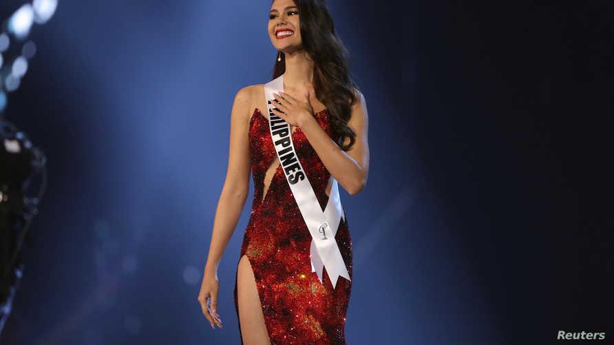 ملكة جمال الكون الفلبينية كاتريونا جراي