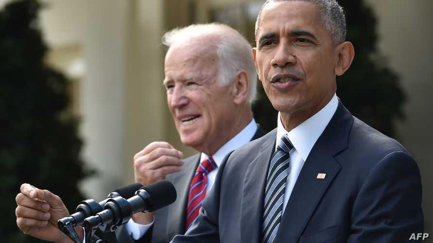 الرئيس باراك أوباما يتحدث من البيت الأبيض بعد فوز ترامب