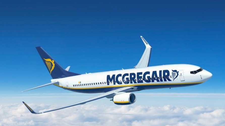 """طائرة تابعة لشركة """"ريان إير"""" الإيرلندية"""