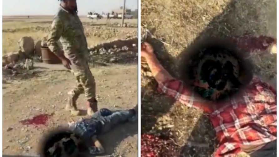 نساء كرديات قتلن على أيدي الفصائل الموالية لأنقرة