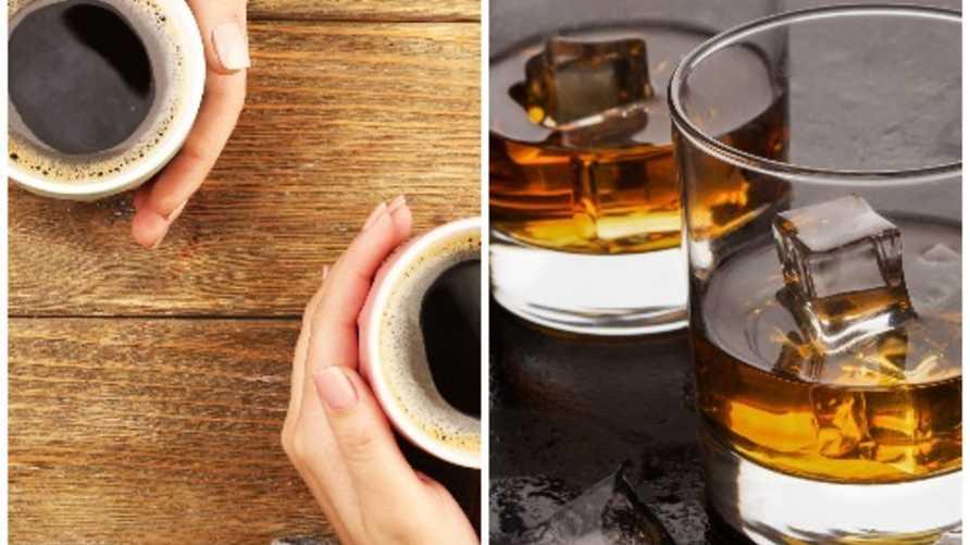 القهوة والكحول