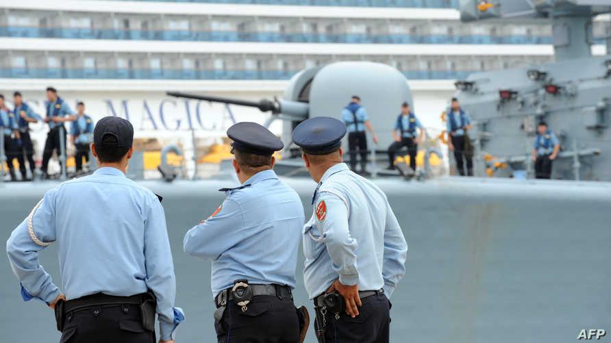 عناصر من الشرطة المغربية -أرشيف