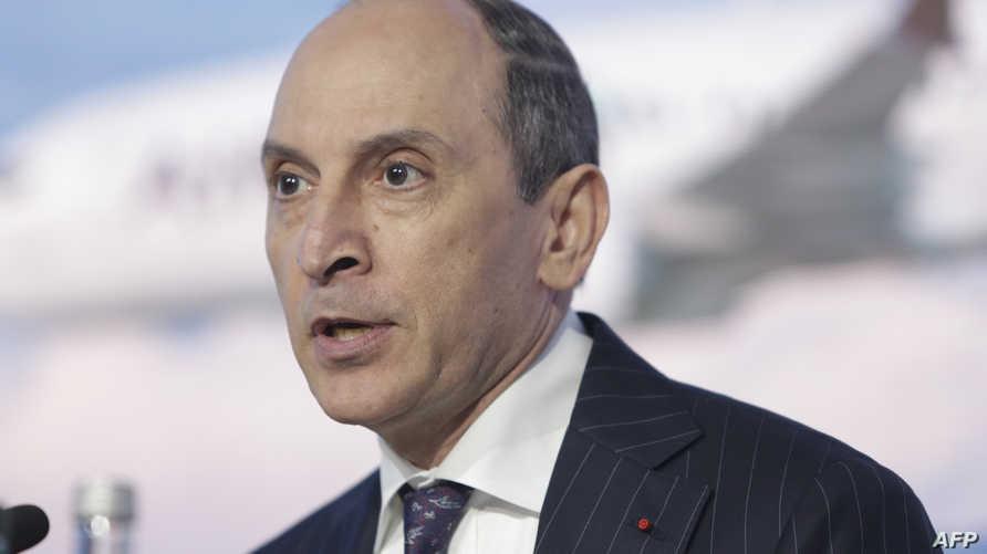 الرئيس التنفيذي لشركة الخطوط الجوية القطرية