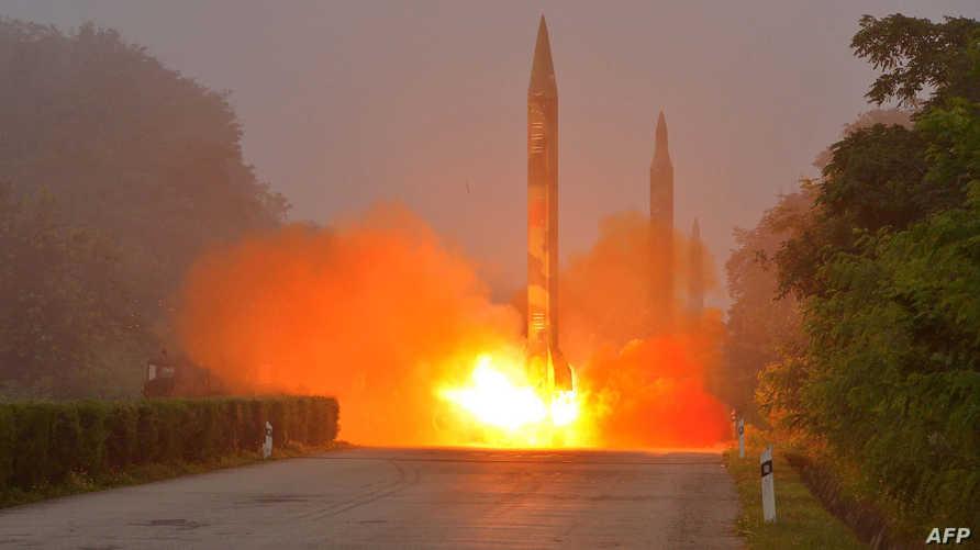 عملية إطلاق سابقة لصاروخ في كوريا الشمالية