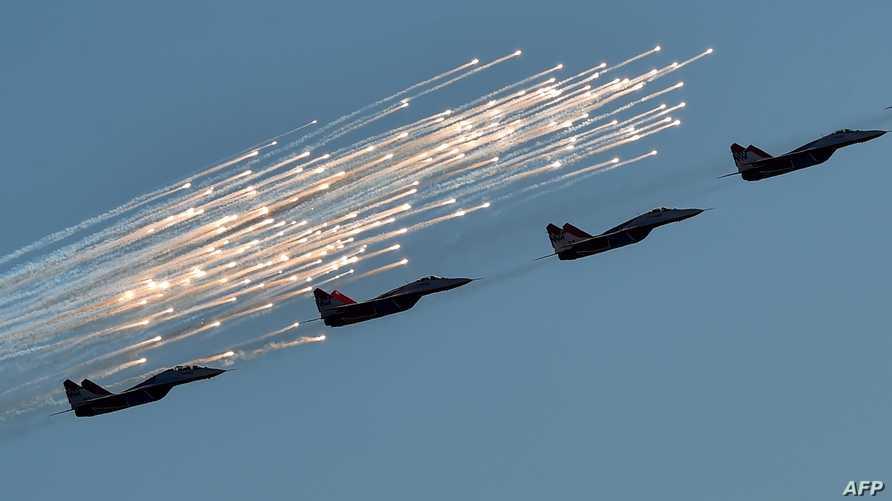 طائرات حربية روسية -أرشيف