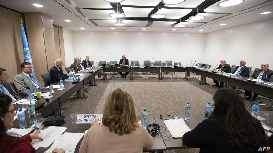 لقاء في جنيف بين دي ميستورا والمعارضة السورية