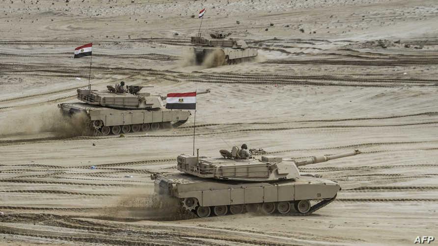 دبابات مصرية من طراز أبرامز