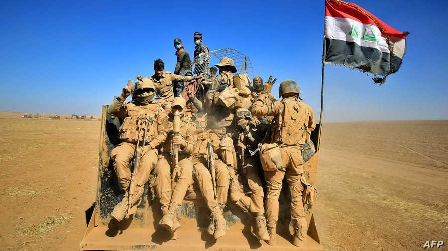 قوات عراقية تتقدم باتجاه الموصل الخميس