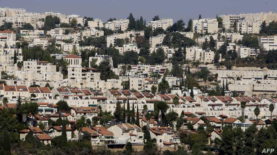 مستوطنة اسرائيلية بالقدس الشرقية-أرشيف