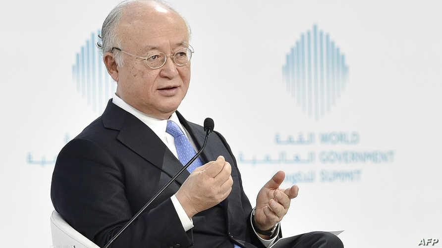 مدير الوكالة الدولية للطاقة الذرية يوكيا أمانو