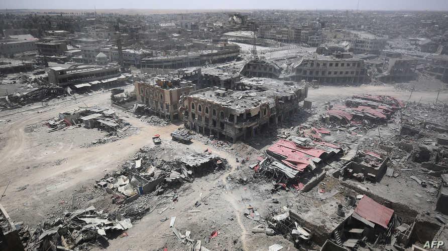 الموصل القديمة بعد تحريرها من سيطرة داعش