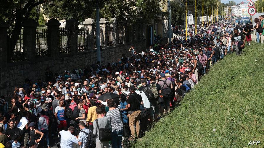 تدفق اللاجئين على أوروبا