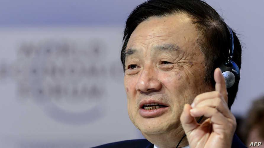 مؤسس شركة هواوي الصينية العملاقة للاتصالات رين زنغفاي. أرشيفية