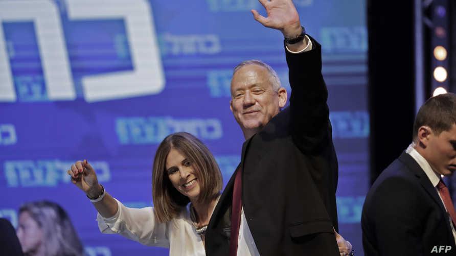 """زعيم ائتلاف """"أزرق أبيض"""" الإسرائيلي بيني غانتس"""