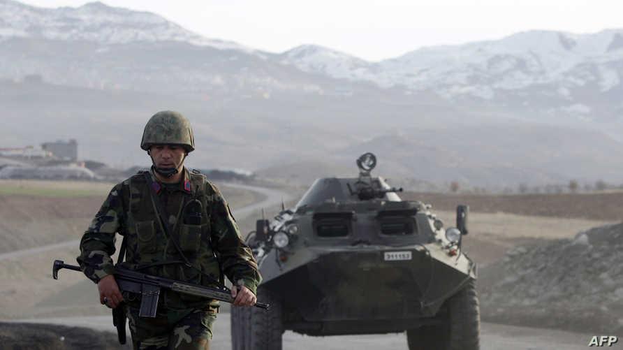 قوات تركية قرب الحدود العراقية