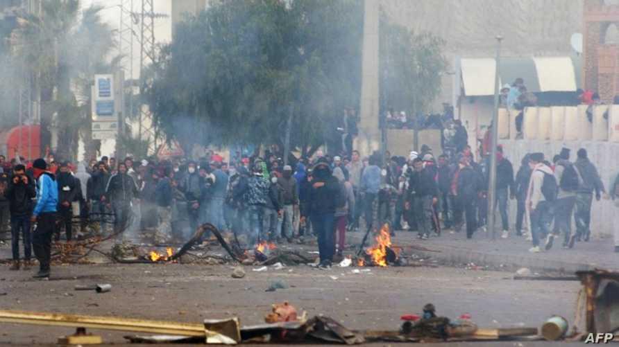 احتجاجات سابقة في تونس
