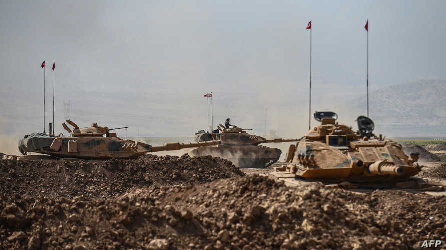 قوات تركية على الحدود مع العراق - أرشيف