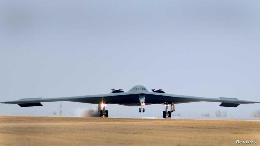 طائرة أميركية من طراز بي-2 سبيريت، أرشيف