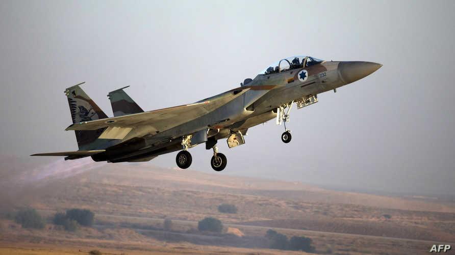 مقاتلة إسرائيلية من طراز F-15