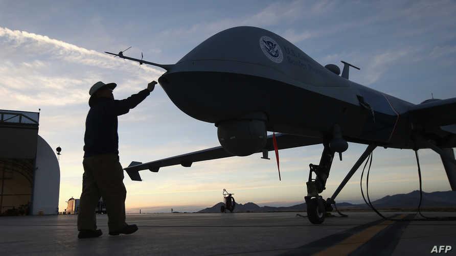 طائرة من دون طيار تابعة لسلاح الجو الأميركي
