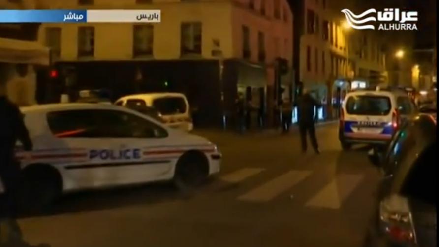 أحد الأماكن التي استهدفتها الاعتداءات في باريس