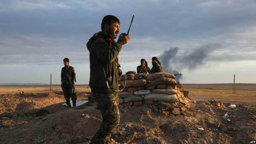 قوات سورية الديموقراطية في الرقة
