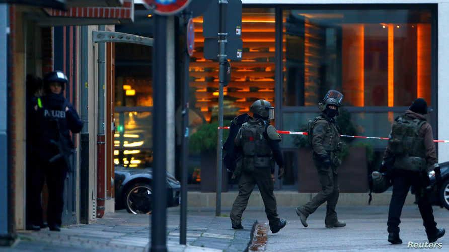 إطلاق النار وقع في أحد شوارع مدينة هاله