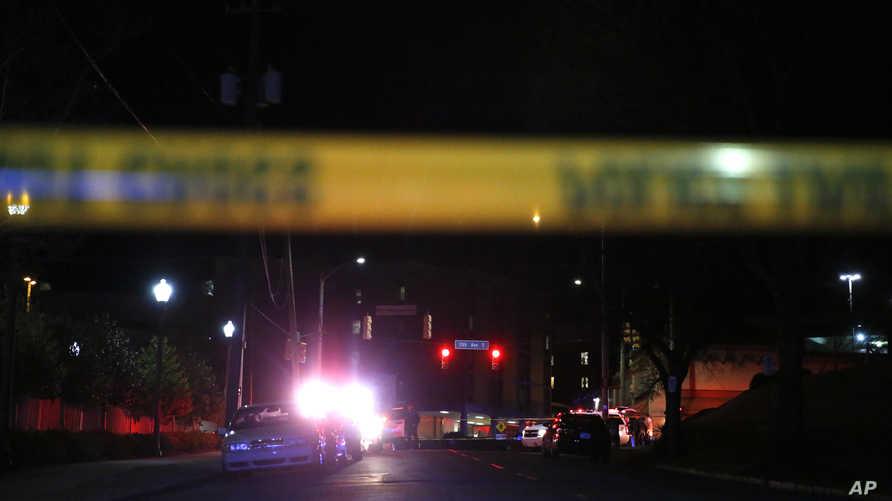 شرطة ألاباما تغلق أحد الطرق بعد حادث إطلاق نار- أرشيف