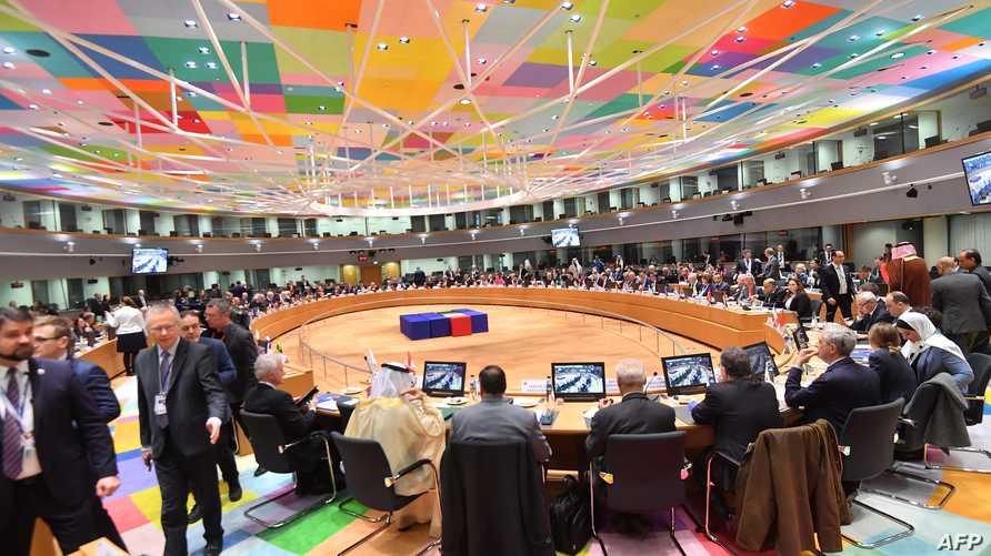 في بروكسل، ضعف تأثير مسارات أستانة وسوتشي بعد إصرار الدول الكبرى على التمسك بالمسارات الدولية وقراراتها