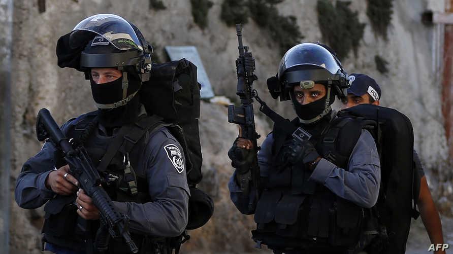عناصر من قوات الشرطة الخاصة الإسرائيلية
