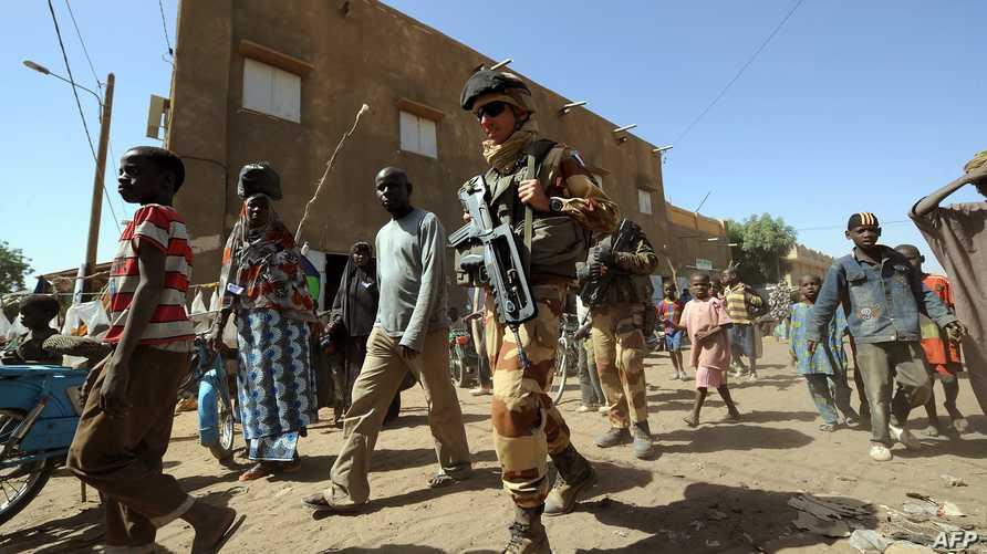 جنود فرنسيون في دورية بغاو شمال مالي