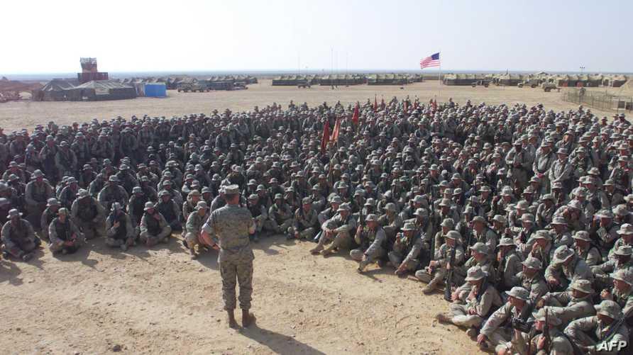قوات أميركية في سيناء خلال تدريبات مشتركة -أرشيف
