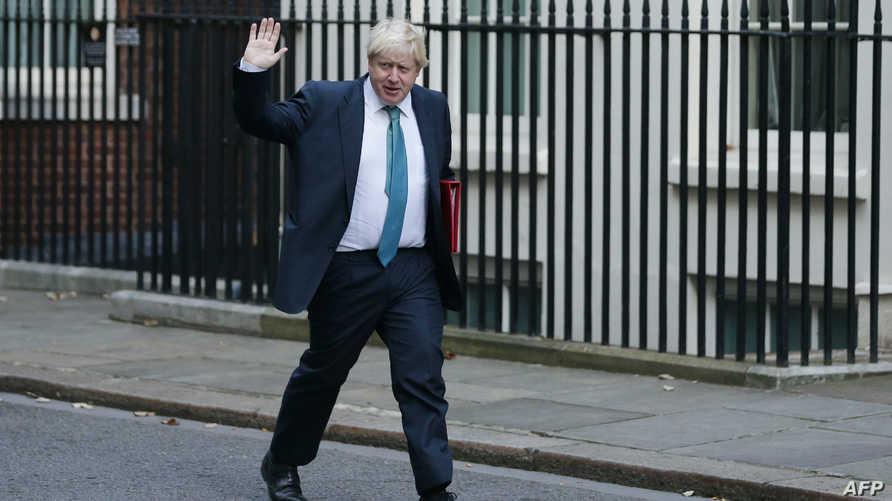 وزير خارجية بريطانيا بوريس جونسون