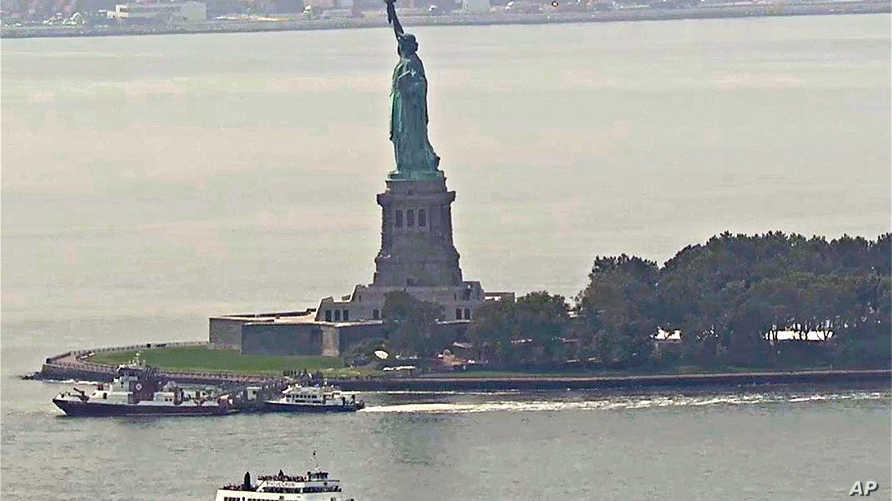 تمثال الحرية في ليبرتي أيلند