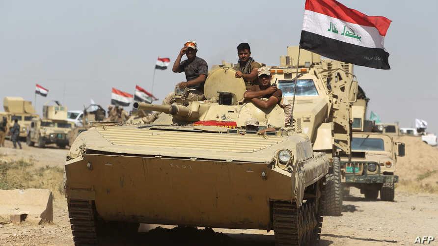 قوات عراقية في الحويجة