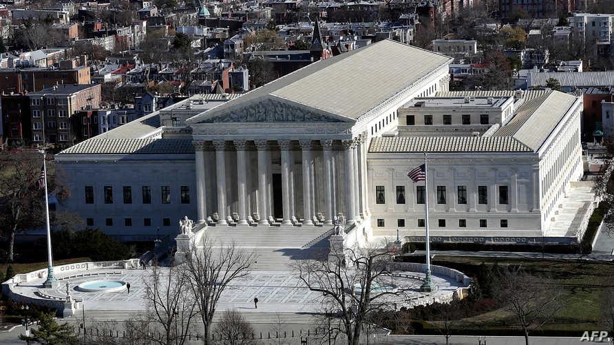 مبنى المحكمة العليا الأميركية
