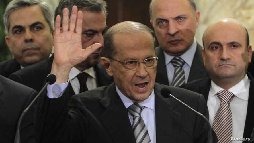 رئيس كتلة التغيير والإصلاح النيابية ميشال عون، أرشيف